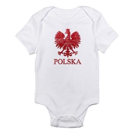 Polska T-shirts. Polska Eagle. Infant Bodysuit