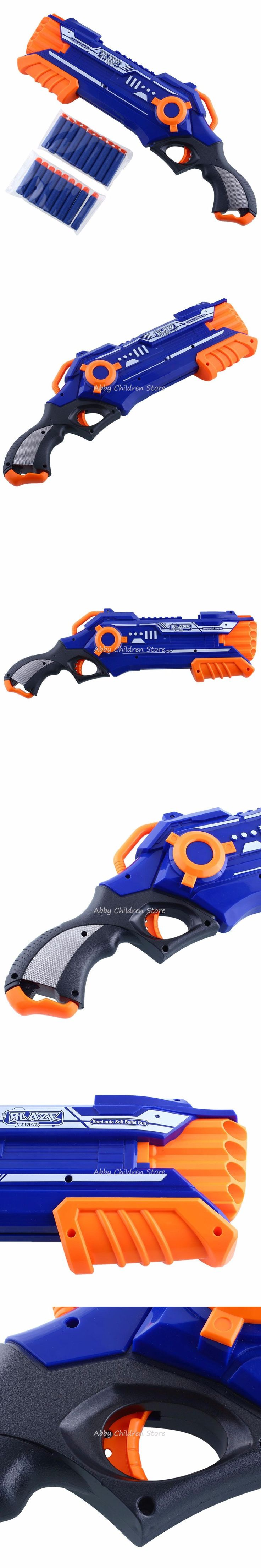 Pistol Nerf Gun Plastic Toy Gun Sniper Rifle Orbeez Arme Nerf Blaster With 12 Darts Kids Toys For Children Birthday Gifts
