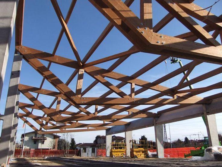 Estructura madera cercha de madera / prefabricada - COMUN NUOVO - Marlegno