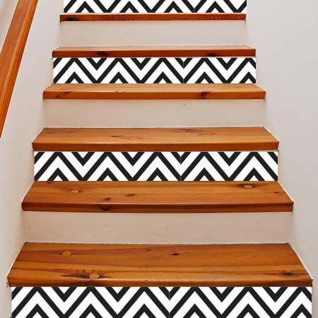 Personnalisez votre escalier avec un style scandinave.