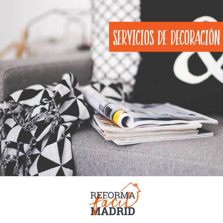 ¡En la decoración todo cuenta! El estampado, el textil, el estilo y la distribución de los muebles en el hogar son temas de amplia discusión. Es importante contar con un experto que te indique los mejores consejos profesionales para ti. Contáctanos: Contáctanos: www.reformafacilmadrid.es | Tel.: 637637891  #ReformaFacilMadrid #Pintura #Reformas #Madrid