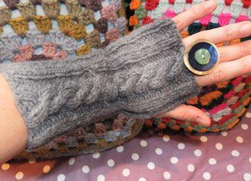 Smart og trendy måde at holde håndleddene varme på