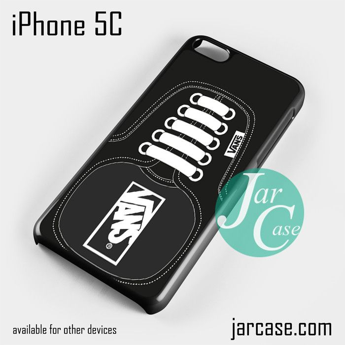 Black Vans Shoe Phone case for iPhone 5C and other iPhone devices