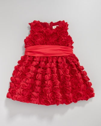 Cupcake Rosette Dress, 12-24 Months by Helena at Neiman Marcus.