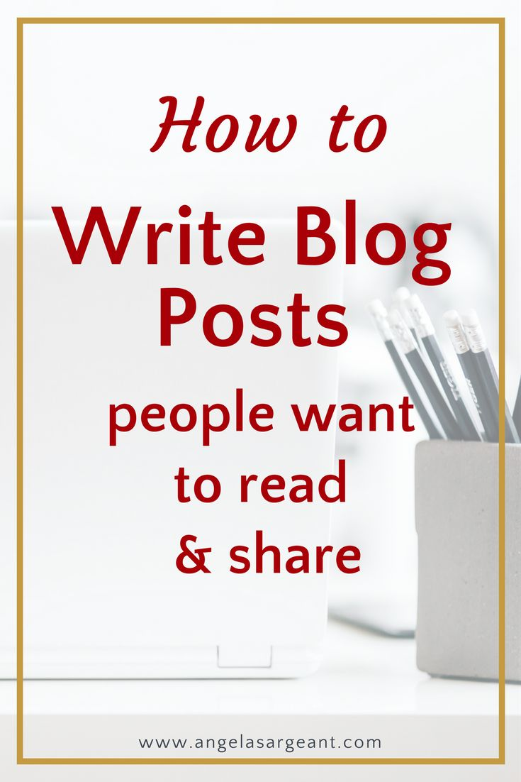 How to write blog posts people want to read and share on social media. Also download a Blogging Checklist & Cheat Sheet