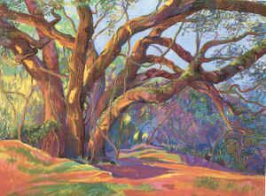 pastel on sandpaper by Sally Hughes Smith--love all her work