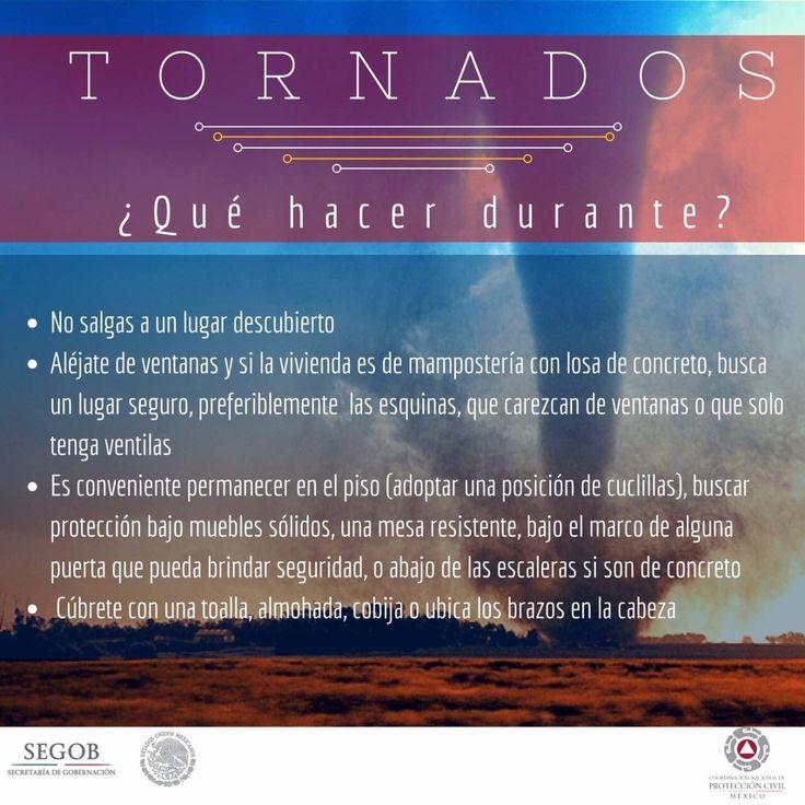 Tornados:¿Que hacer durante?