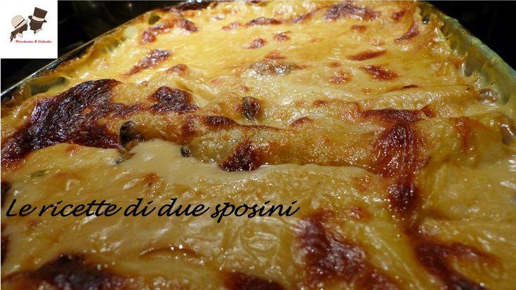LASAGNE ZUCCA E FUNGHI!  I sapori e i colori dell'autunno nel piatto..e che bontà!!