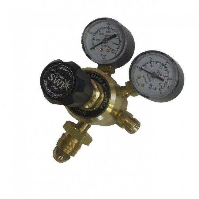SWP 2068 300 Bar Single Stage 2g Argon/CO2 Regulator