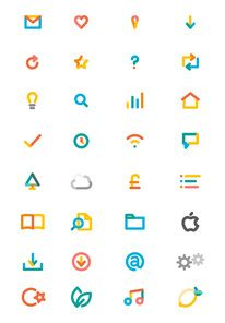 Icons Inspiration Search Results — Designspiration