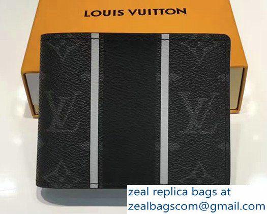 Louis Vuitton Multiple Wallet Monogram Eclipse Coated Canvas M64439 2017