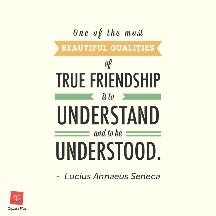 Friendship Quotes | Open Me