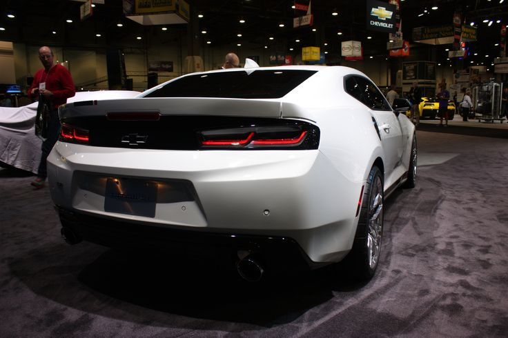 Chevy loads up Camaro concept with performance parts