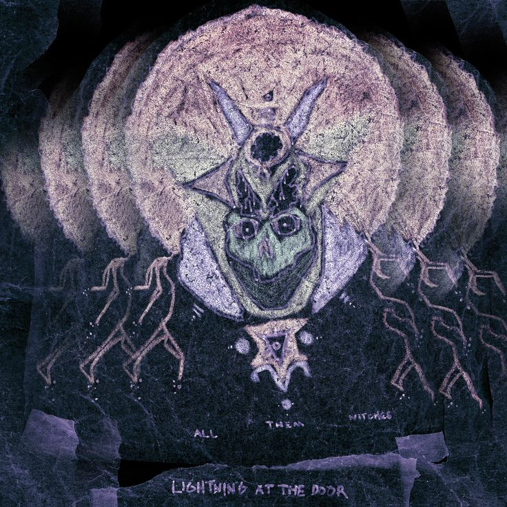 Lightning at the door - All them witches (2013)