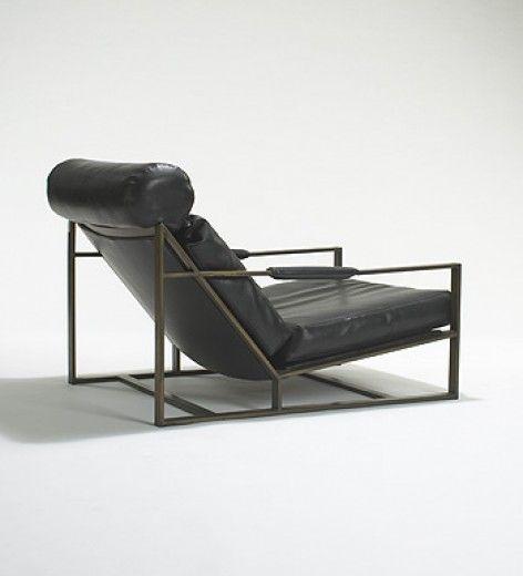 No. 431: Milo Baughman, #B-1739 Lounge Chair for Thayer Coggin, c1967, through Cabana Home Santa Barbara