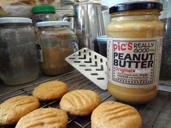 Flourless Peanut Butter Cookie (gluten-free)
