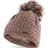 Znalezione obrazy dla zapytania czapki damskie na drutach