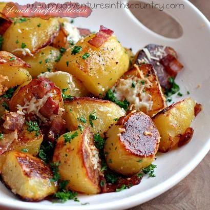 Pastırmalı Fırınlanmış Patates #SebzeYemeğiTarifleri #pastırmadanneyapabilirim