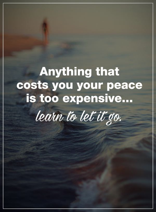 awesome Positive Life Quotes: How To Learn Let It Go Surprise!