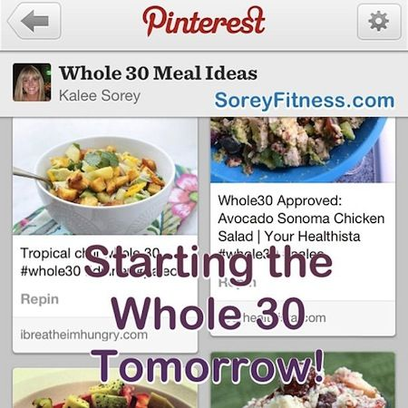 Whole 30 Meal Plan | Whole 30 Review and Meal Plans for Day 1 – What I Ate Wednesday #3