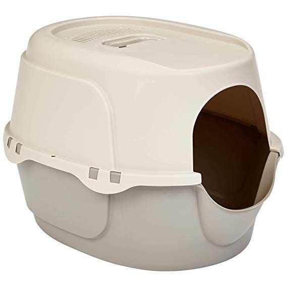 Amazon Com Amazonbasics Hooded Cat Litter Box Large Pet Supplies With Images Best Cat Litter Cat Litter Box