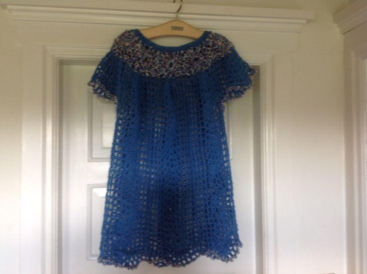 Hæklet kjole opskrift fra Hendes Verden