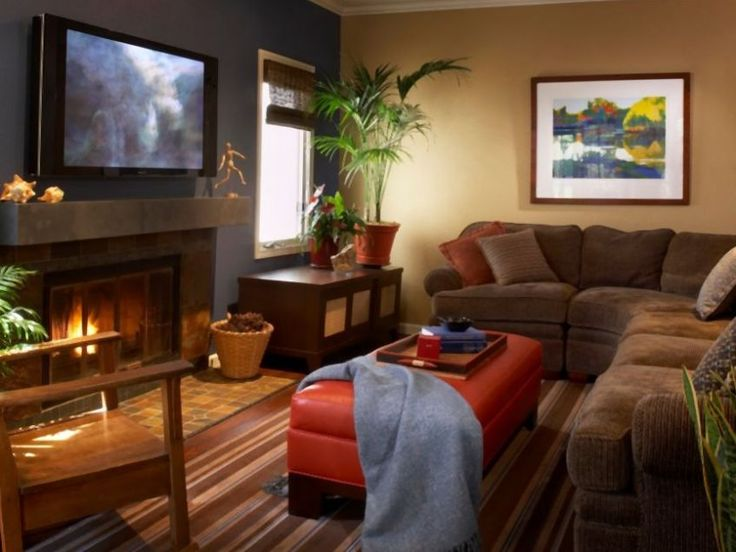 Cozy Modern Living Room Design Ideas With Warm Color For Home Designs