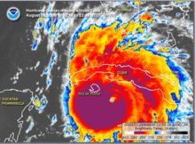 Hurricane Gustav - Wikipedia, the free encyclopedia. I was in a lawyers office the day before Gustav made landfall in Terrebonne Parish signing my life away, to purchase my home here in Terrebonne Parish. Scary!