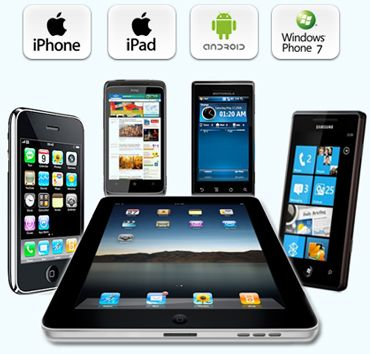Get Mobile apps for your android, iPhone, iPad, blackberry and windows mobile.