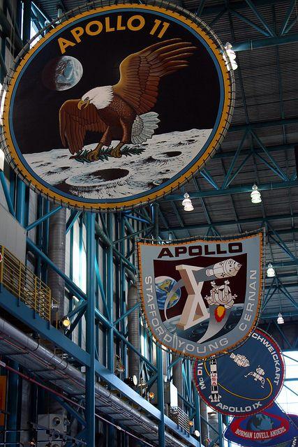 Apollo / Saturn V Center. NASA Kennedy Space Center. Florida. by elsa11, via Flickr