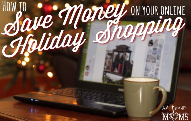Get cash back while shopping for everyone on your list this year!! Save Money on your Online Holiday Shopping - http://allthingsmoms.com/save-money-on-your-online-holiday-shopping/