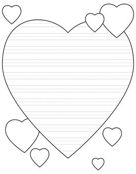 valentine coloring stationary pages - photo#44