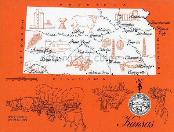 Best KS Map Project Images On Pinterest Kansas Kansas Map - Ks map