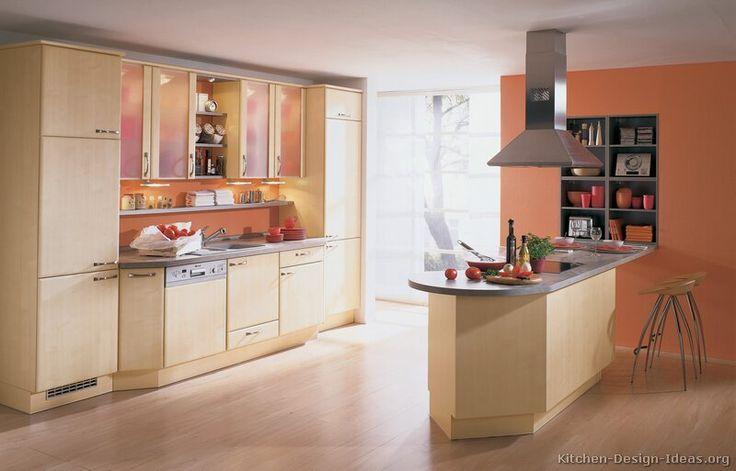 Orange Kitchen Walls Ideas: 624 Best Images About Modern Kitchens On Pinterest