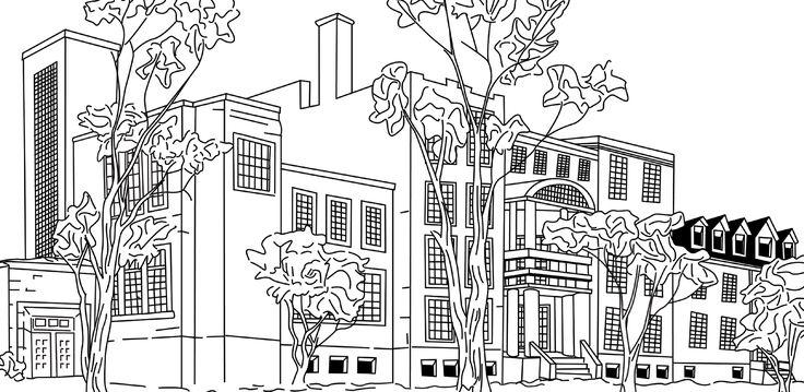 Dessin de bâtiment et de paysage A partir de 399$.  Le dessin artistique d'un endroit préféré pour un souvenir féerique.