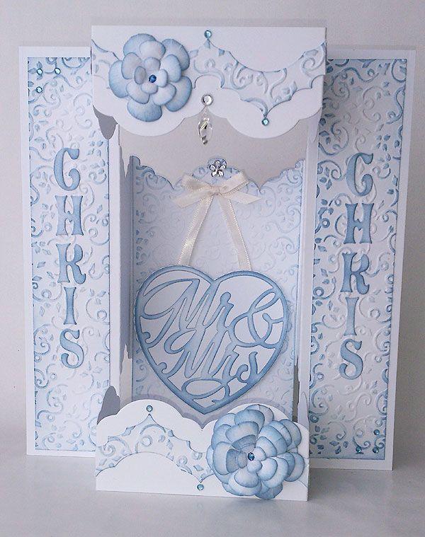 Blog tonic: A Special Wedding Card - Doda