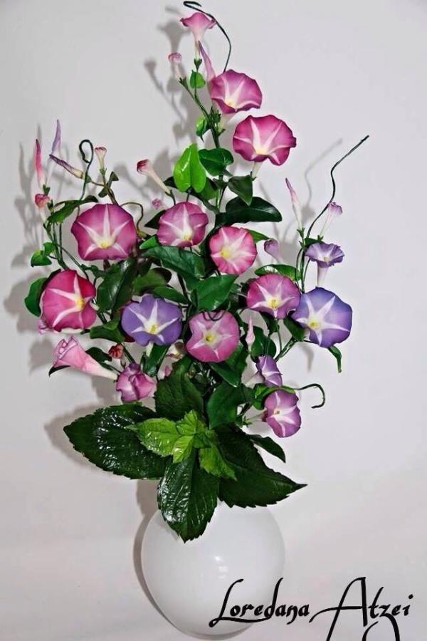 Morning Glory Ipomea Sugar Flowers