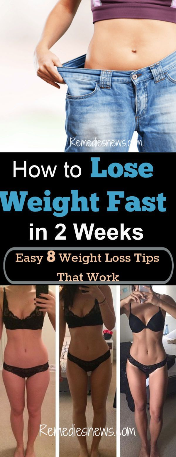 How to Lose Weight Fast in 2 Weeks: Easy 8 Weight Loss Tips to Lose 10 Pounds Fa...