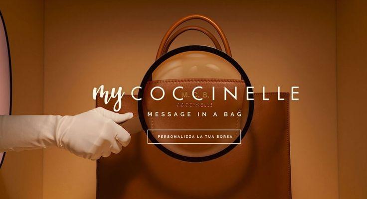 My Coccinelle: arrivano le Borse personalizzate con le tue Parole My Coccinelle borse personalizzate