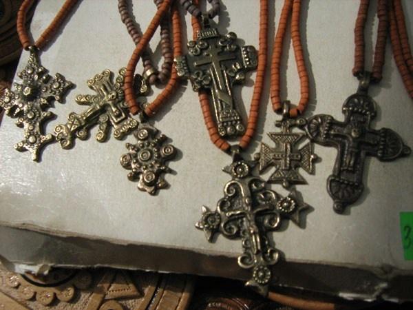 hutsul zgardy, or amulets/talismans