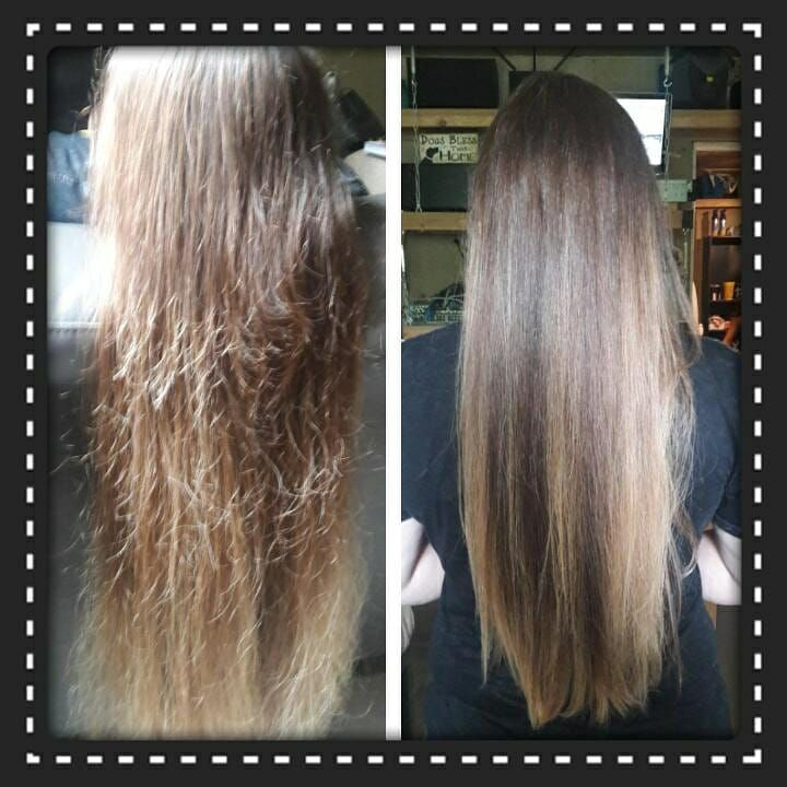 This Is Michelle S Before And After I Don T Even Have My Monat Rejuvabeads Yet And I M Still In Hair Detox Phase Amazing Monat Hair Monet Hair Products Hair