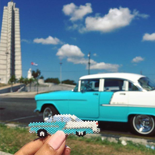 Place de la Révolution à La Havane. Alors, elle est plutôt bien réussie ma…