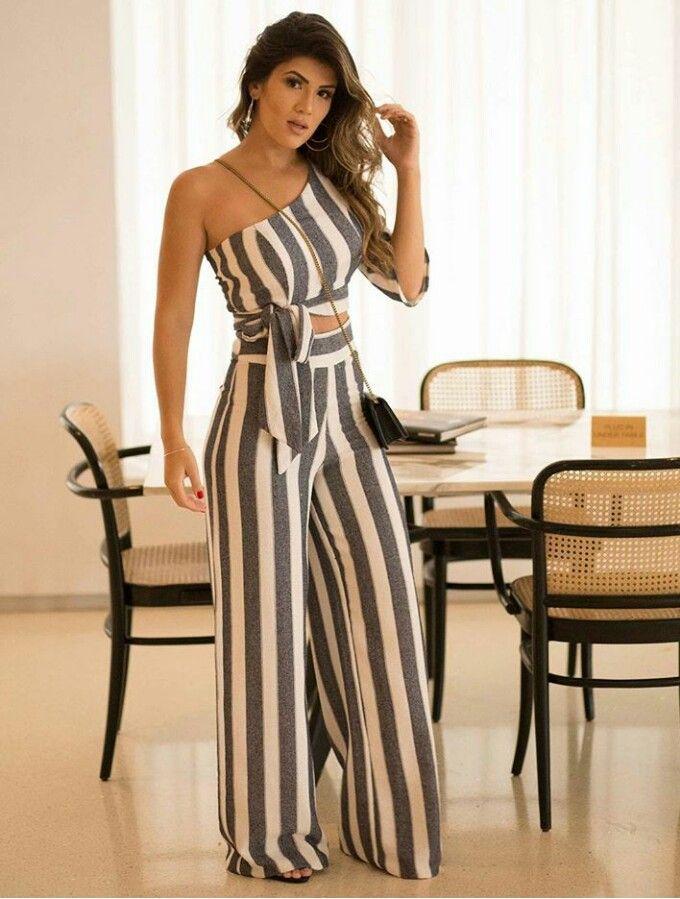 324ec3dc3 Pin by sulay alvarez on Conjunto blusa short o pantalones in 2019    Vestidos, Vestidos para senhoras, Macacão casual