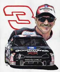 Dale and the famous #3. #DaleEarnhardtMemorial http://www.pinterest.com/jr88rules/dale-earnhardt-memorial/