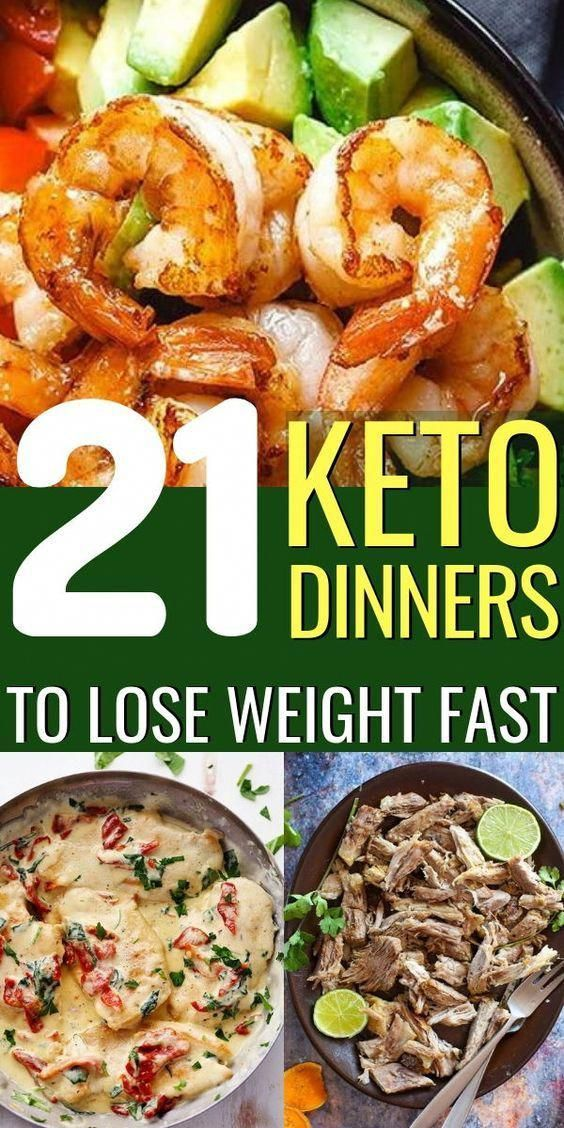 21 Simple Keto Dinner Recipes to Lose Weight