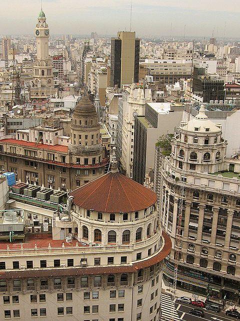 Palermo Viejo - Cúpulas de Buenos Aires - Desempolvando el baúl de los recuerdos. Diagonal Norte y Florida