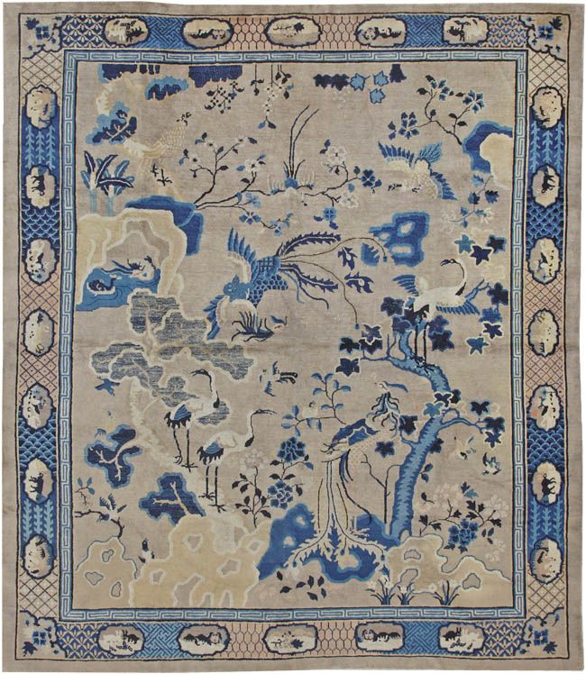 Antique Chinese Oriental Carpets #44479  nazmiyalantiqueru...: Oriental Carpets, Antique Chinese, Chinese Oriental, Oriental Textiles Rugs Carpets, Oriental Rugs, Antique Rugs, Antiques