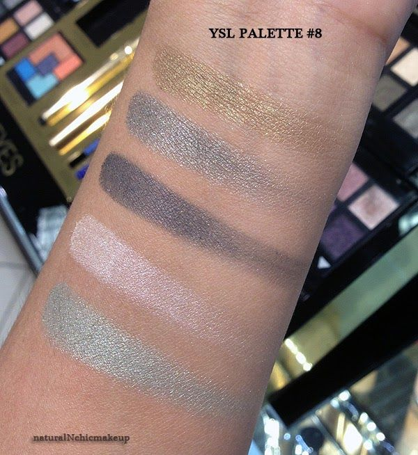 302 best eyeshadows images on pinterest eyeshadows swatch and ysl couture palette 5 couleurs eyeshadow 8 avant garde ccuart Gallery