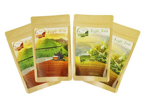 Skinny Lyfe Tea 28 Day detox cleanse