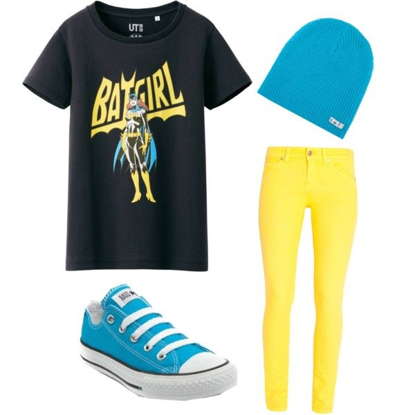 Batgirl indie scene outfit